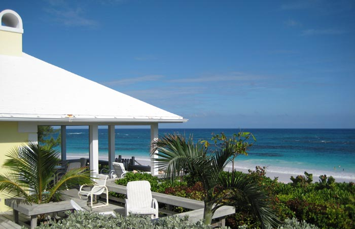 Landfall rental house harbour island bahamas for Beach houses for rent in bahamas