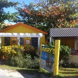 Avery's restaurant Harbour Island
