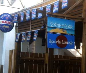 Sammys Sports Lounge in Harbour Island