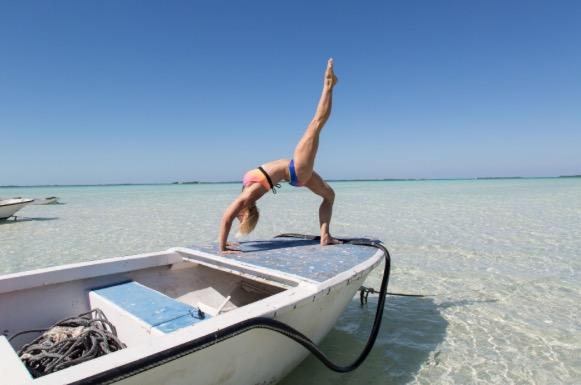 boat yoga pose