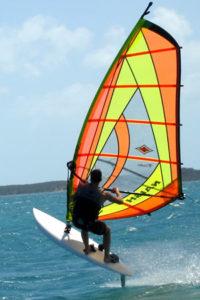 wind surfing Harbour Island