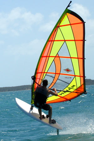 wind surfing Harbour Island