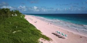 Harbour Island pink sand beach